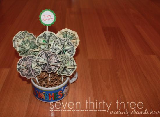 букетик из денег