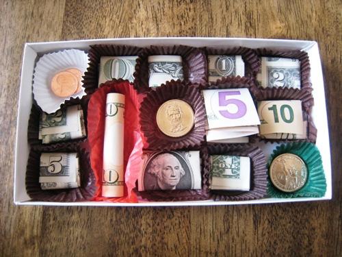 коробка с купюрами