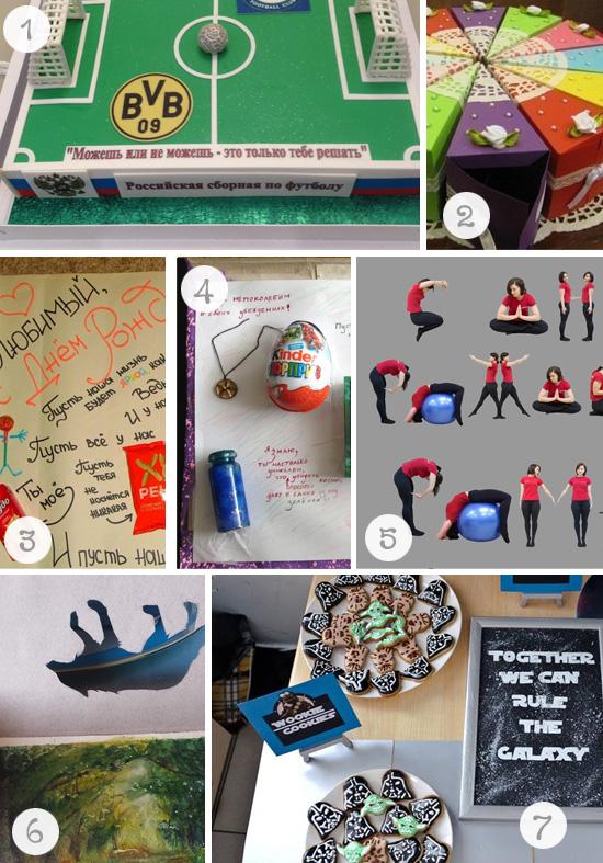 Креативные идеи для дня рождения фото