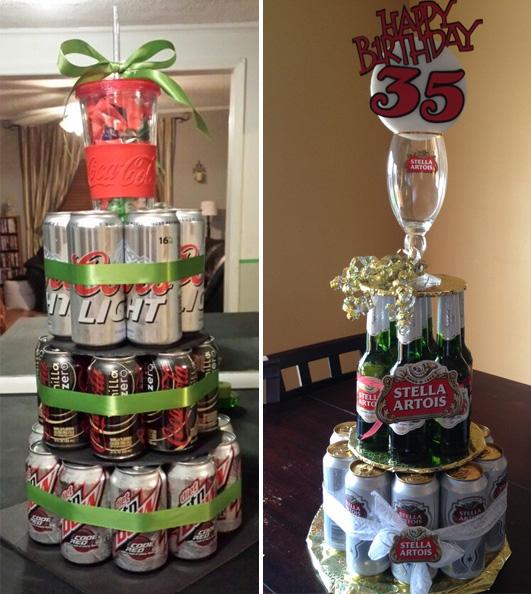 Подарок мужу на день рождения из бутылок